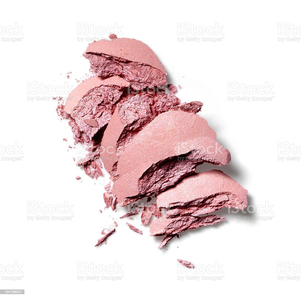 Make-up crushed blush royalty-free stock photo