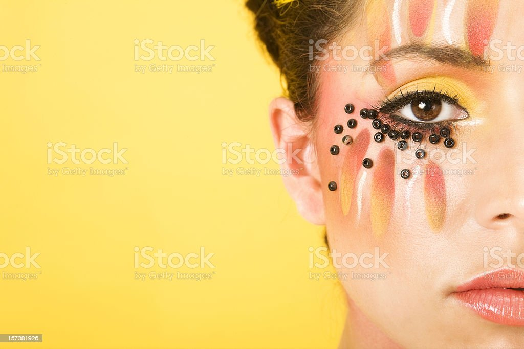 Makeup Detail royalty-free stock photo