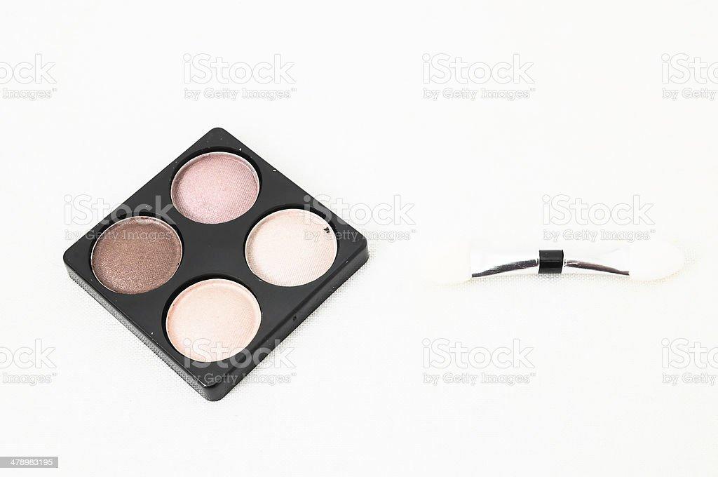 Make-up eyeshadows stock photo