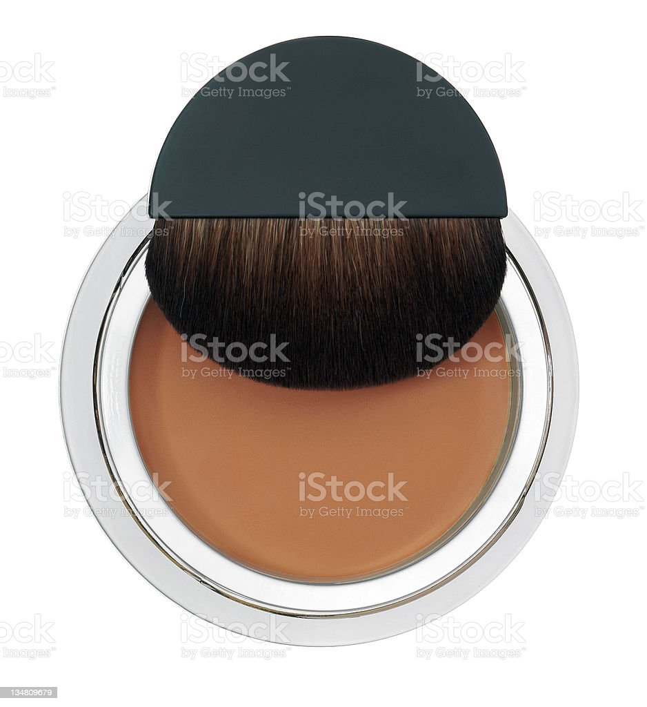Makeup foundation royalty-free stock photo