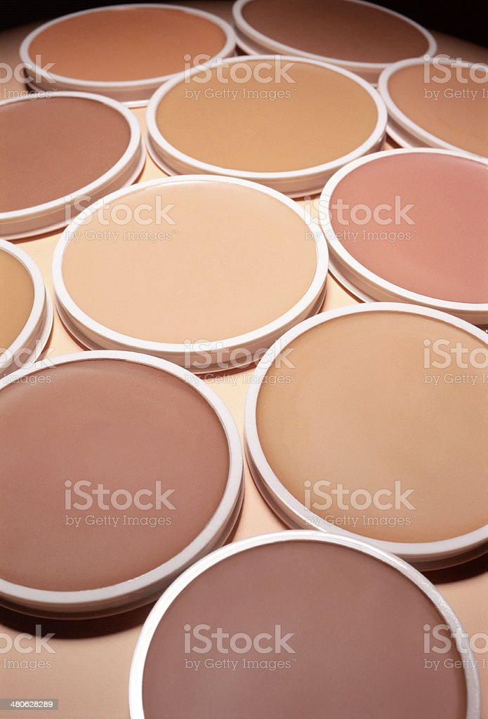 Make-up Foundation royalty-free stock photo