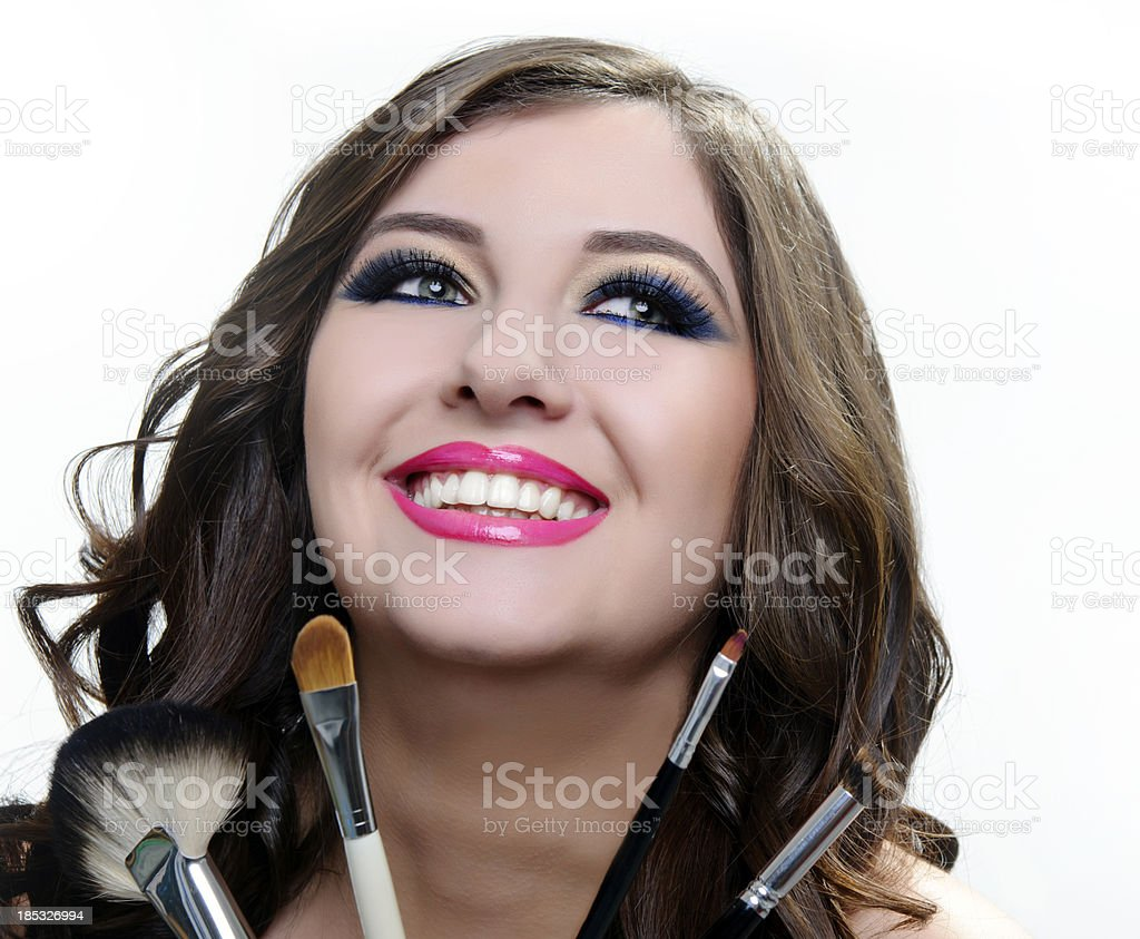 make-up issue royalty-free stock photo