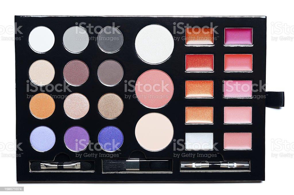 Make-up kit box stock photo