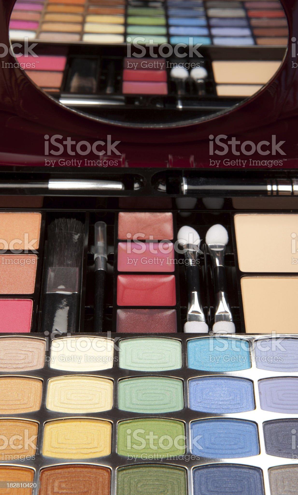 Makeup kit royalty-free stock photo
