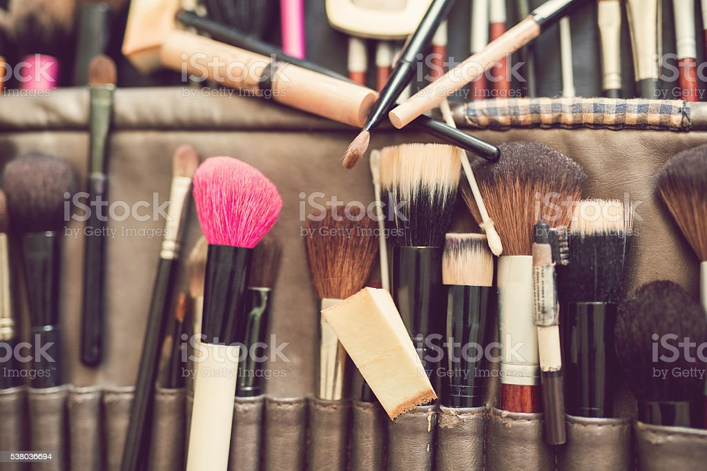 Make-Up Kit stock photo