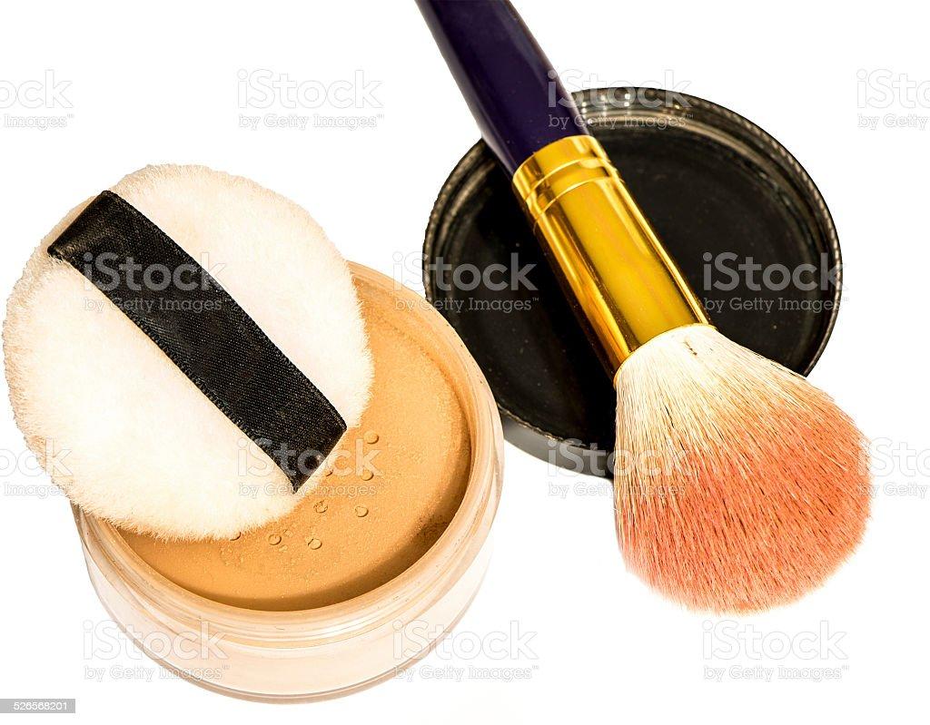 Makeup materials stock photo