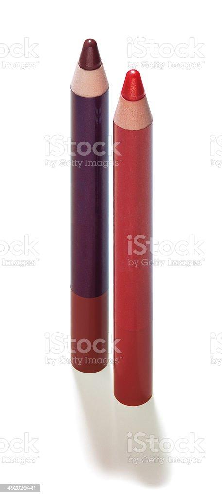 Make-up pencils royalty-free stock photo