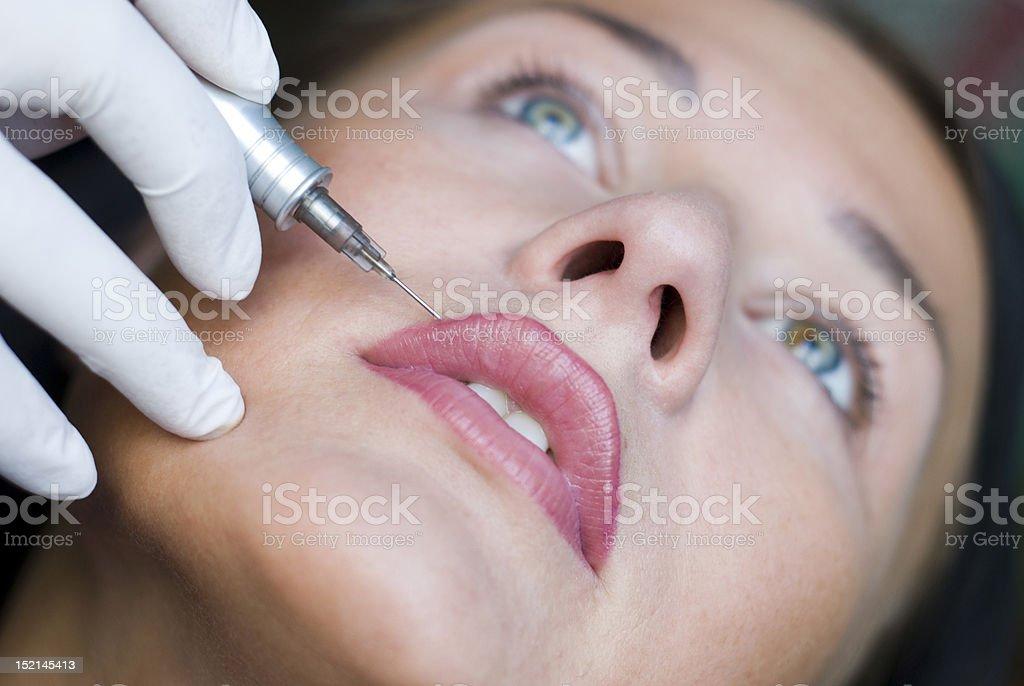 Makeup royalty-free stock photo