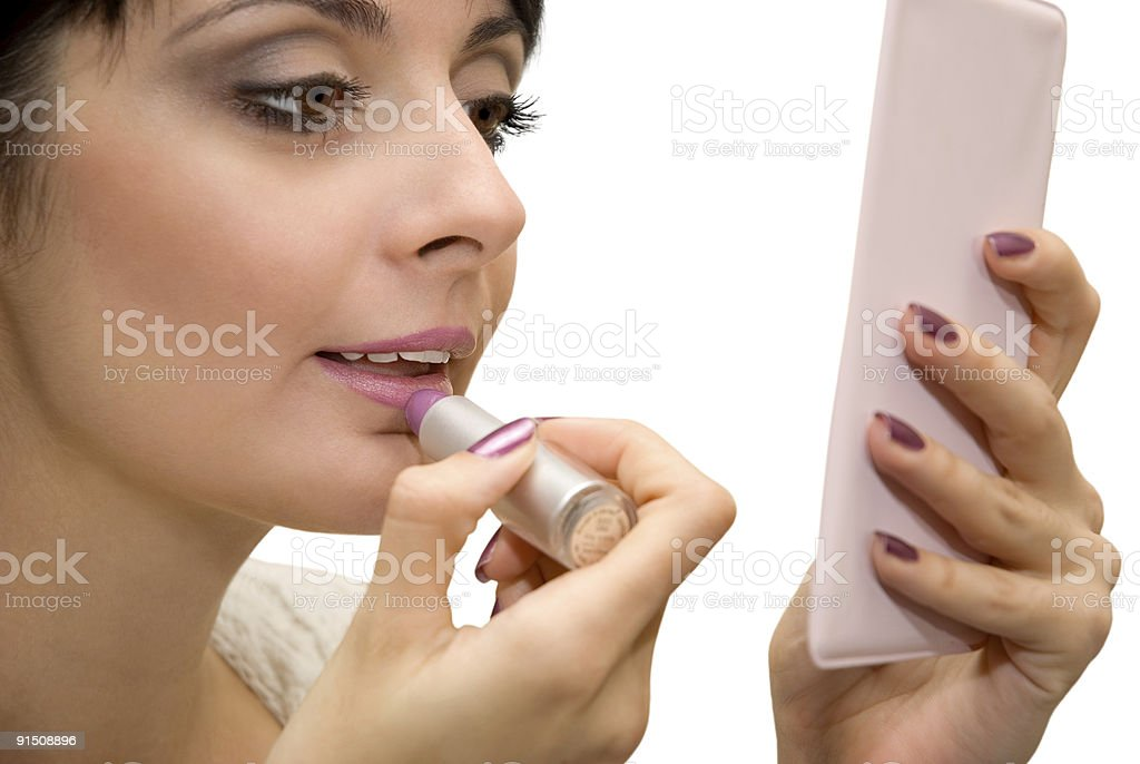 Make-up royalty-free stock photo
