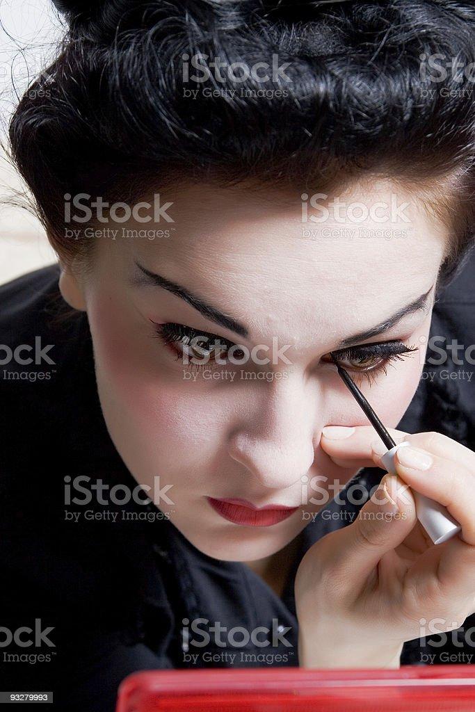 make-up royalty-free stock photo
