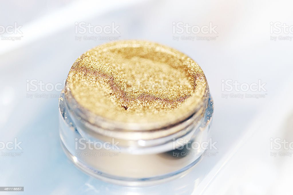 Make-Up Pigment stock photo
