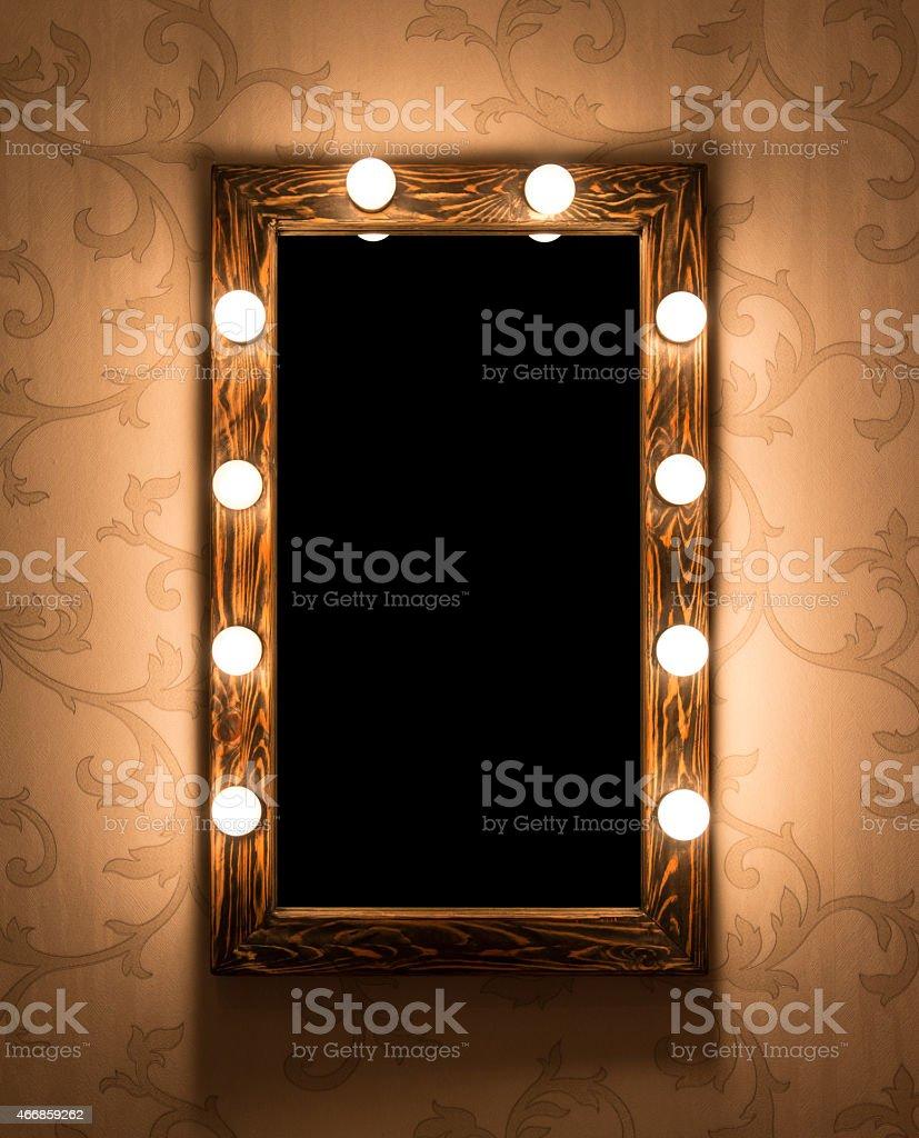 Makeup place stock photo
