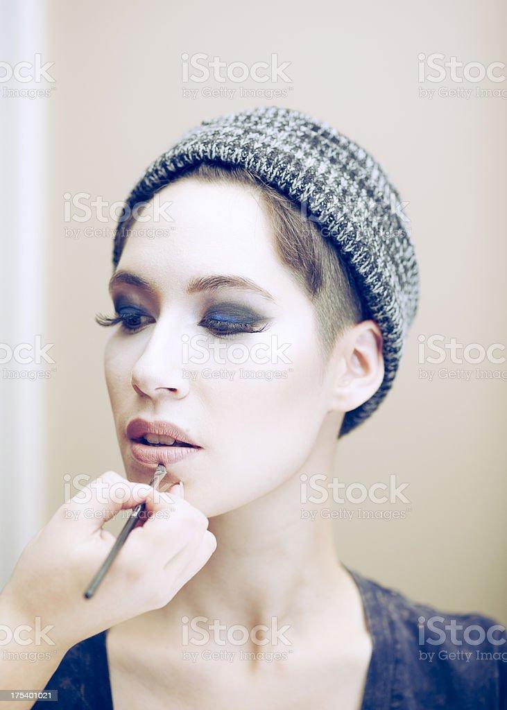 Makeup Portrait stock photo