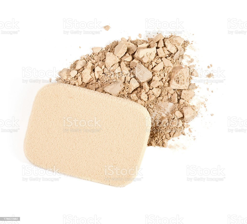 make-up powder royalty-free stock photo