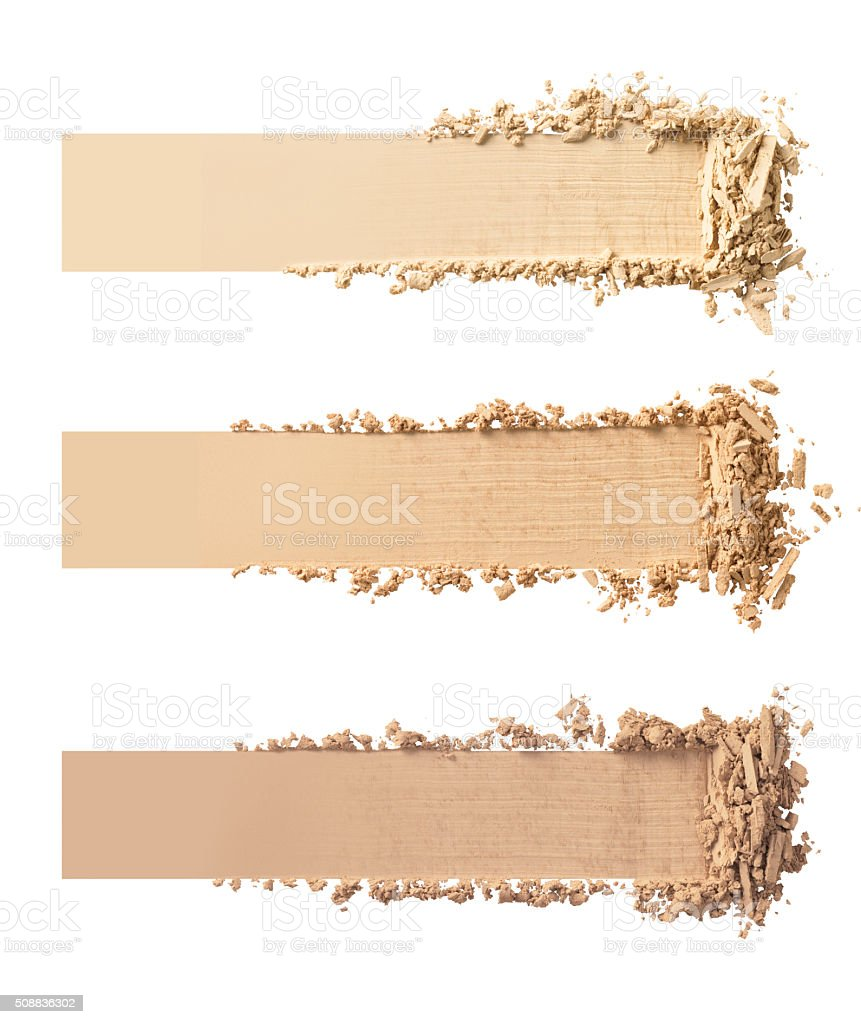 Makeup powder stock photo