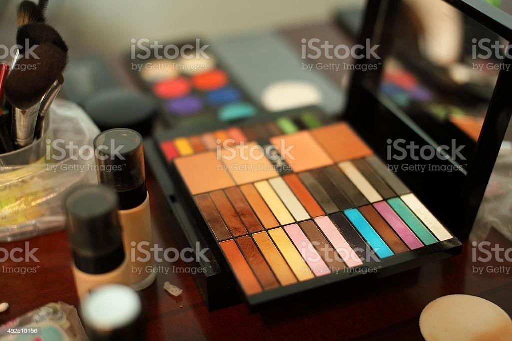 Makeup product stock photo