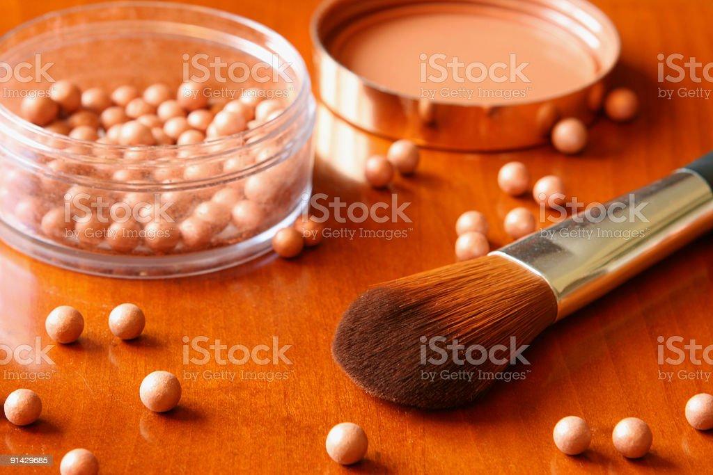 Make-up series royalty-free stock photo