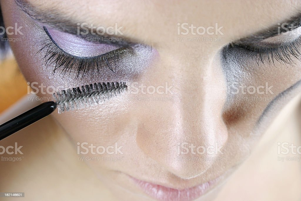 Make-up session 12 royalty-free stock photo