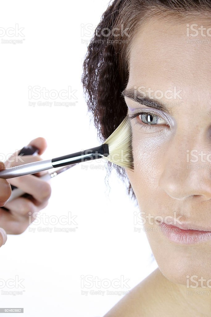 Make-up session 13 royalty-free stock photo
