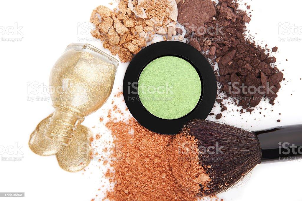 Makeup still life. royalty-free stock photo