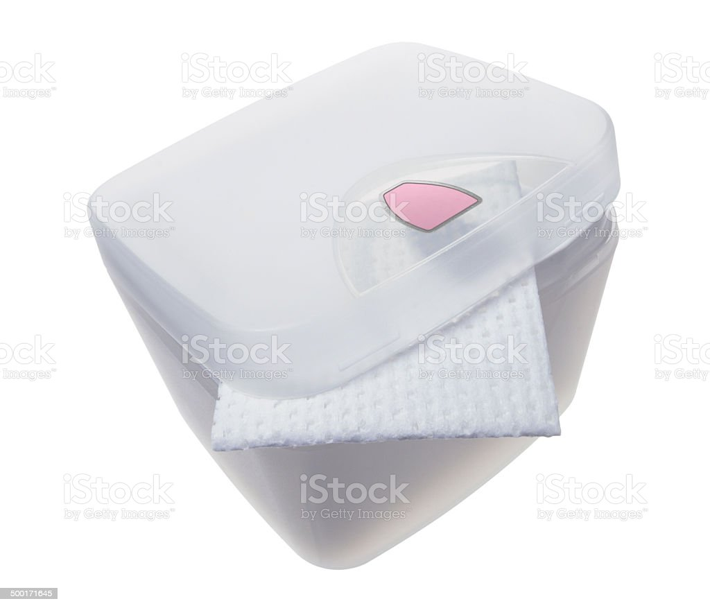 Makeup Wipes royalty-free stock photo