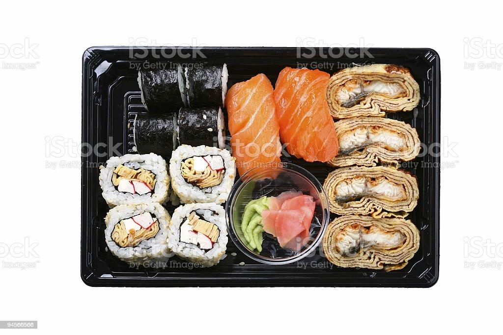 Maki box royalty-free stock photo