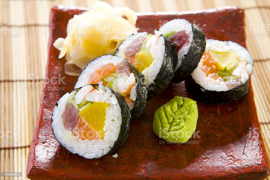 maki luch royalty-free stock photo