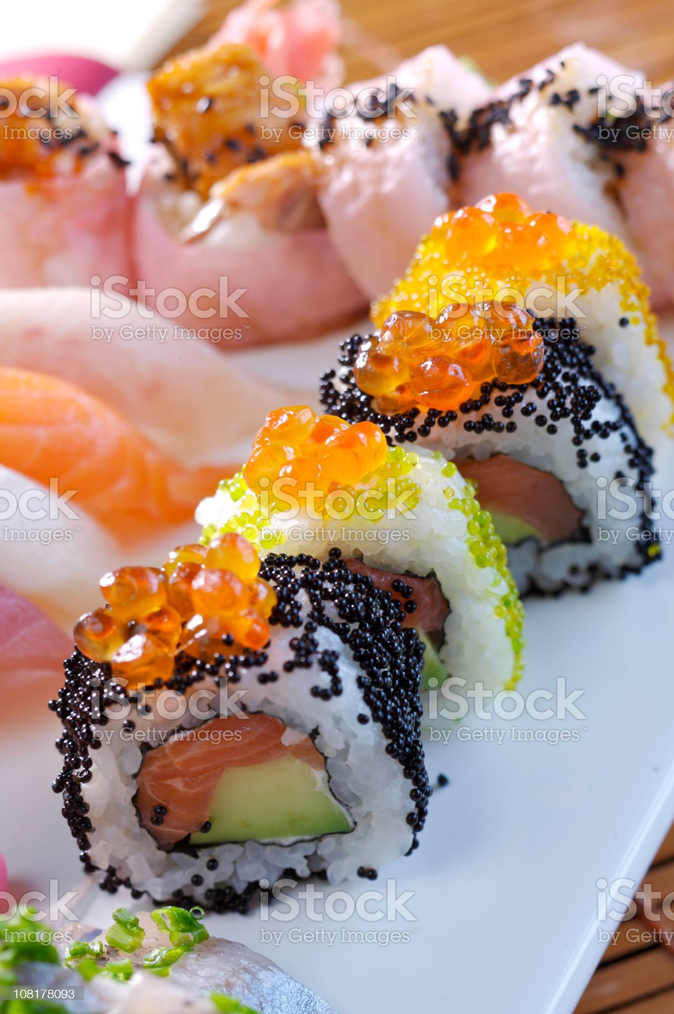 Maki sushi royalty-free stock photo