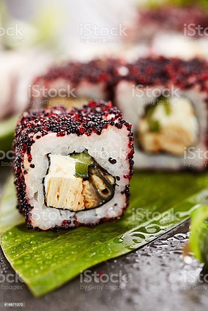 Maki Sushi Roll stock photo