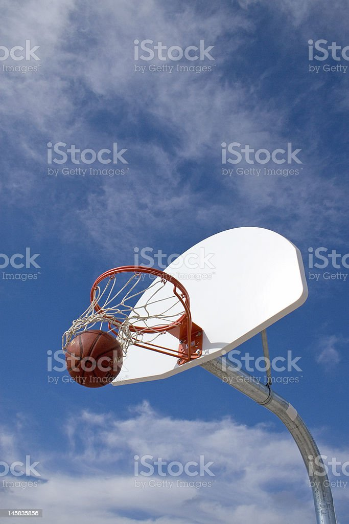 Making a Basket royalty-free stock photo