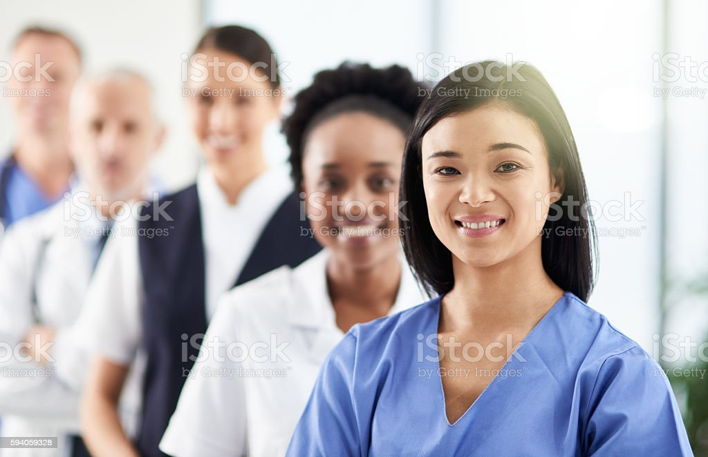 Making a career out of care stock photo