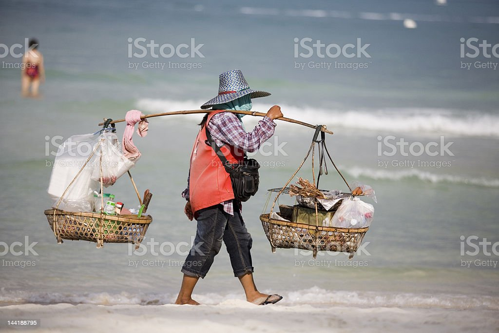 Making a living stock photo