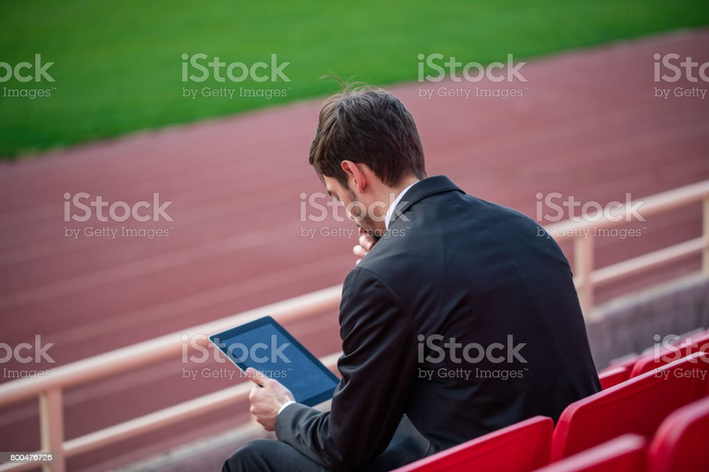 Making a plan for a team stock photo