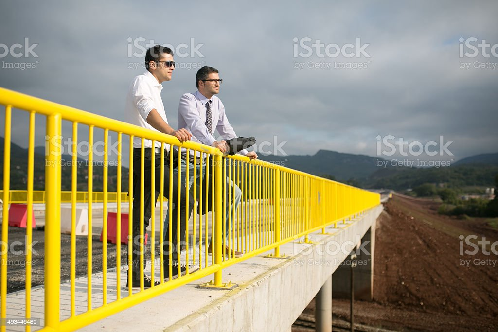 Making A Road Investment Strategy stock photo