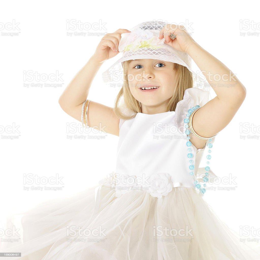 Making Adjustments royalty-free stock photo