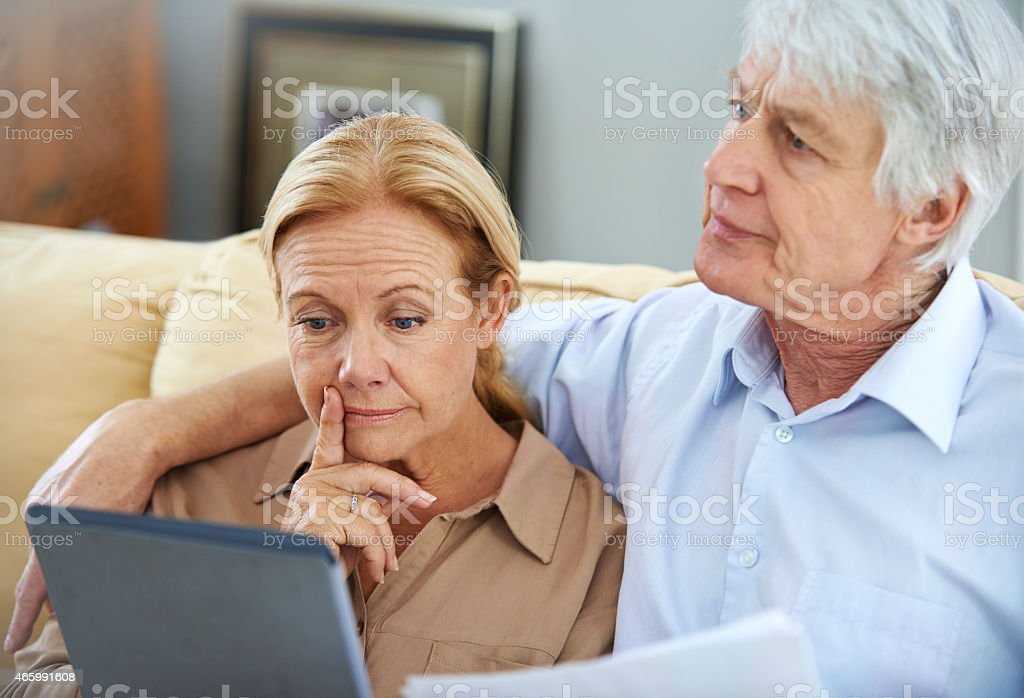 Making an informed decision stock photo