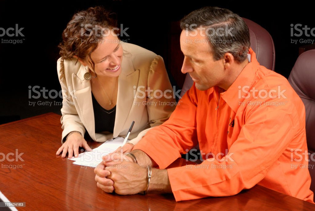 Making Bail royalty-free stock photo