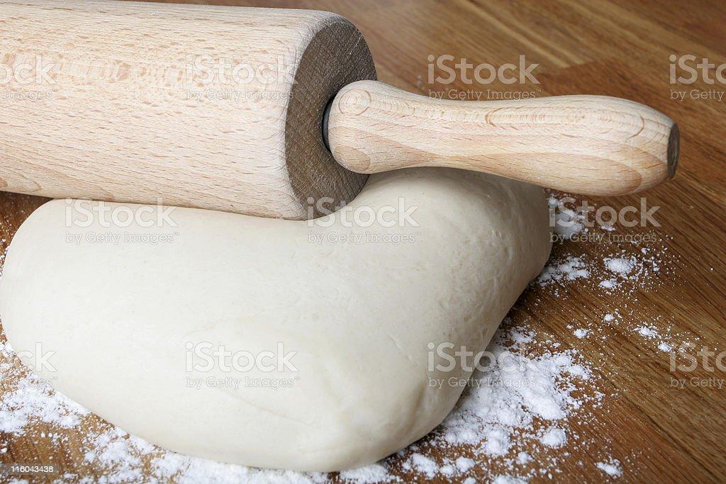 making bread royalty-free stock photo