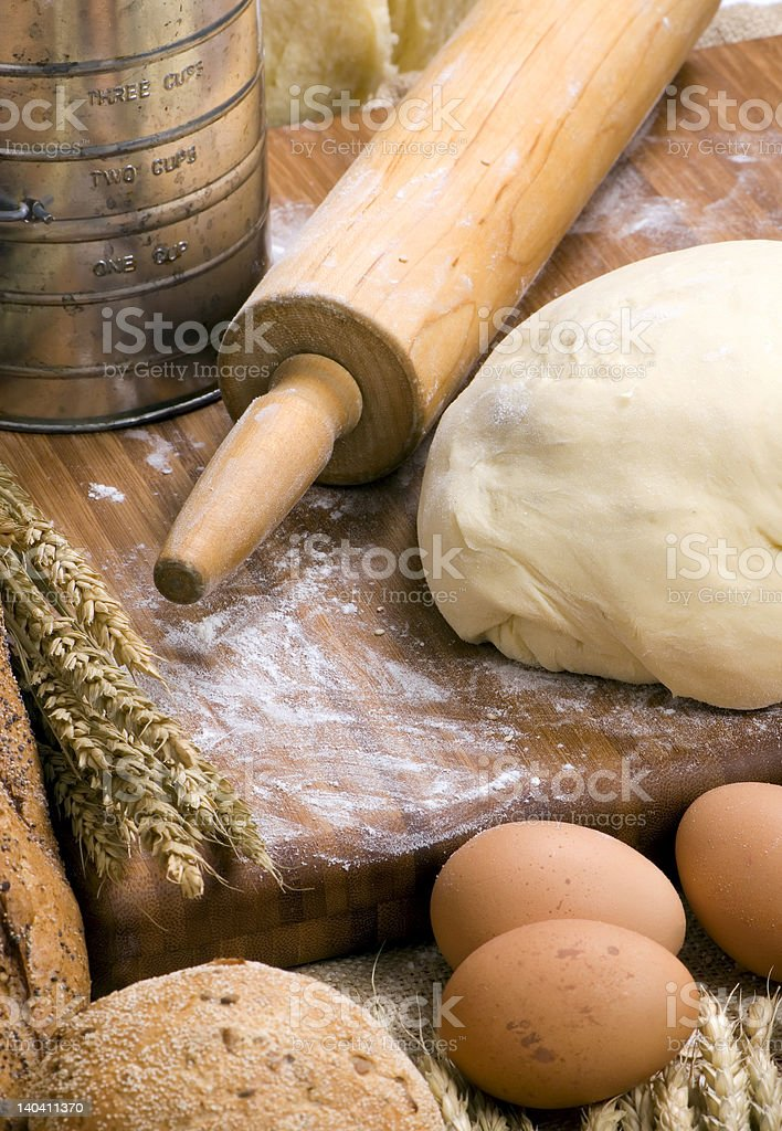 Making Bread Series 011 royalty-free stock photo