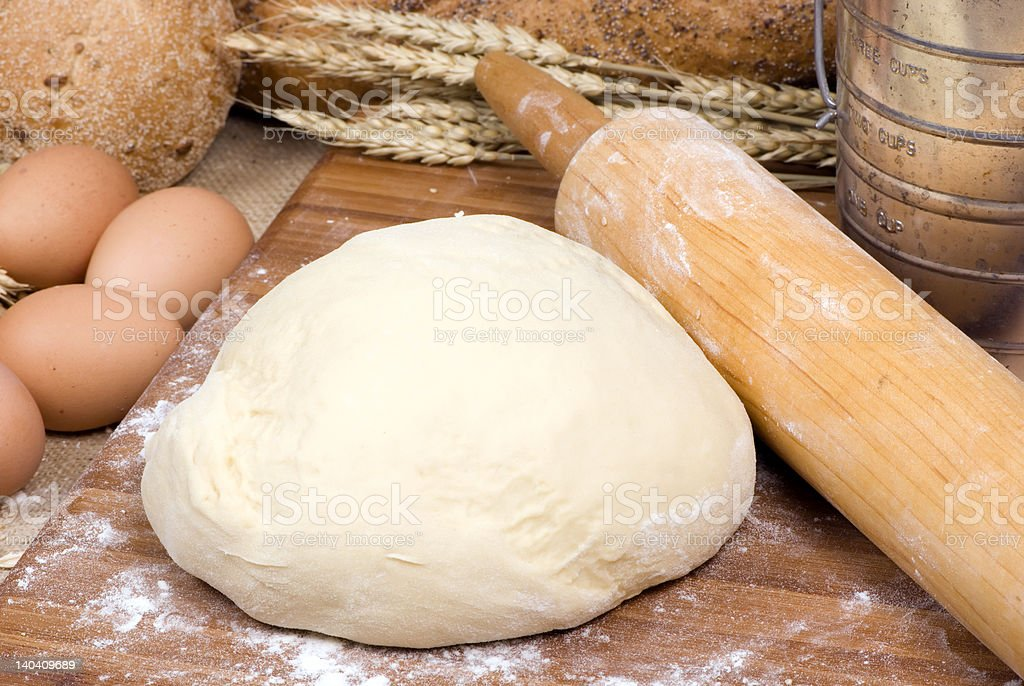 Making Bread Series 012 royalty-free stock photo