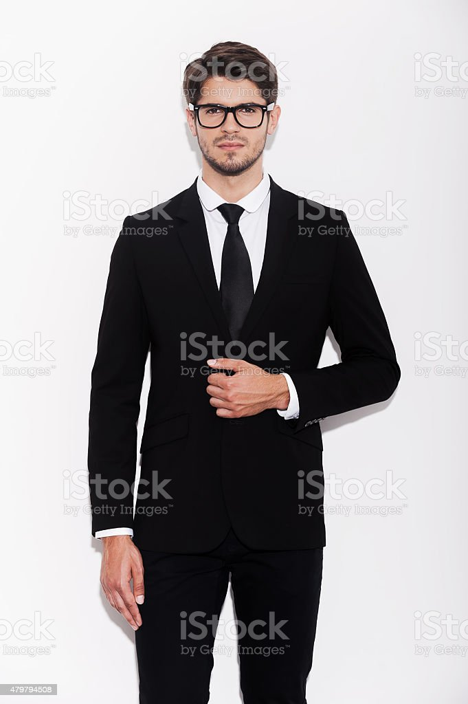 Making business looking good. stock photo