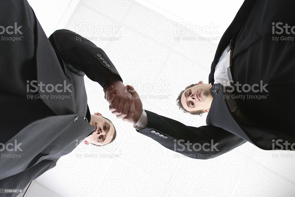 Making business royalty-free stock photo