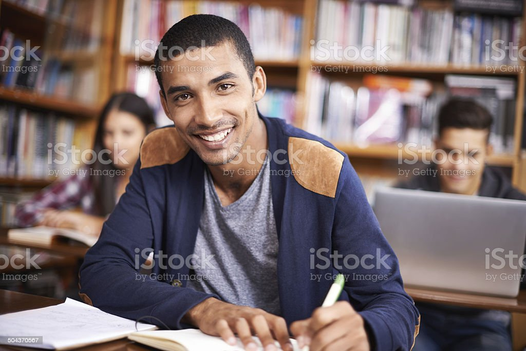 Making college count stock photo