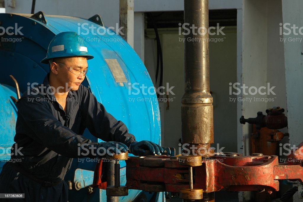 Making connection royalty-free stock photo
