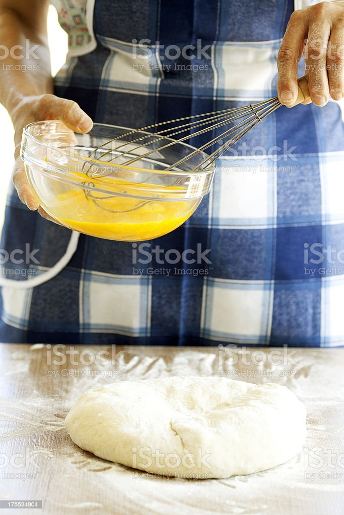 making cookies royalty-free stock photo