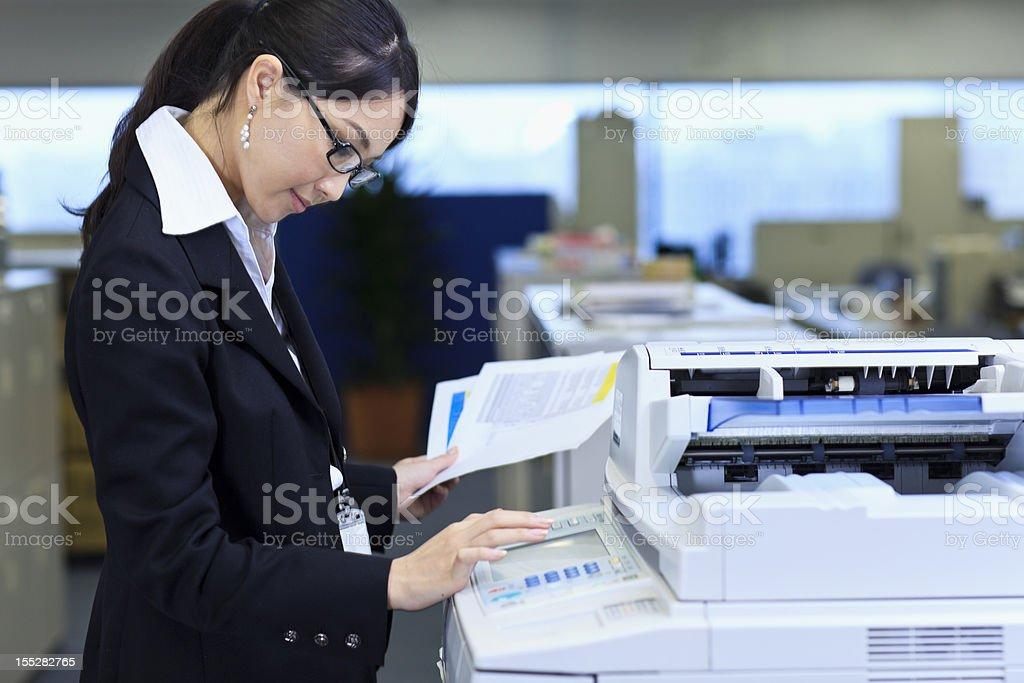 Making copies stock photo