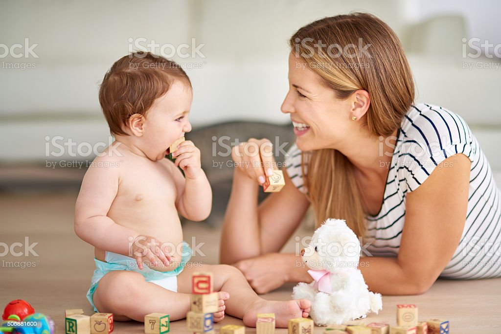 Making early childhood experiences fun and entertaining stock photo