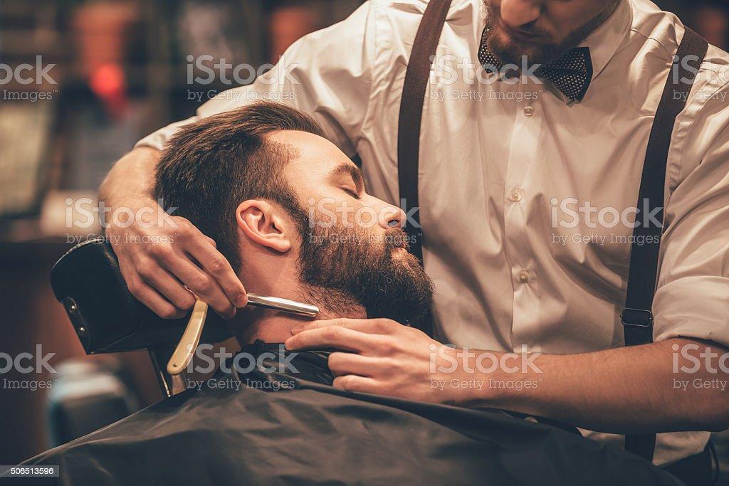Making hair look magical. stock photo