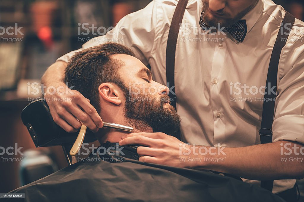 Making hair look magical. stock photo