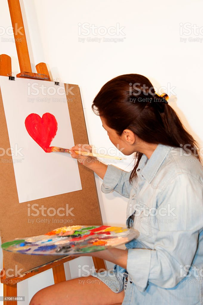 Making love stock photo